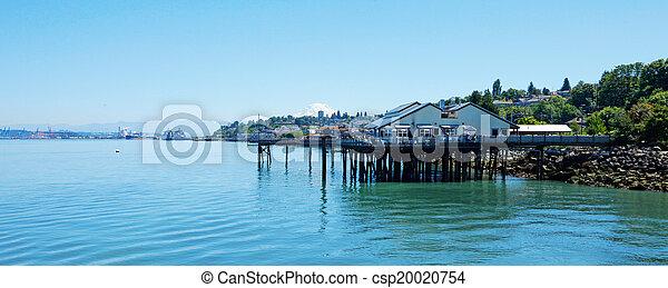 Tacoma, summer time. WAa - csp20020754