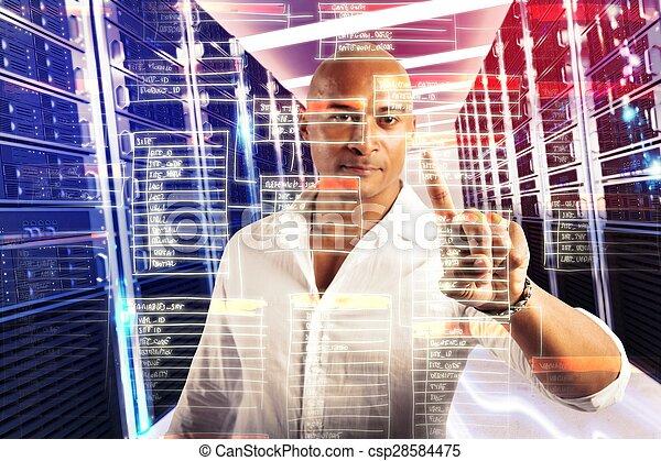 Toca la base de datos virtual - csp28584475