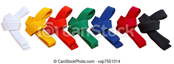 Tae Kwon Do Belts - csp7551014