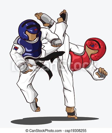 taekwondo martial art rh canstockphoto com taekwondo clip art black and white taekwondo clip art black and white