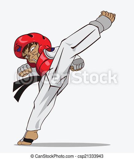 Taekwondo. Martial art - csp21333943