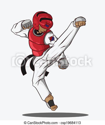 Taekwondo Martial art - csp19684113