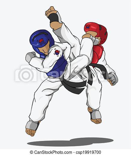 taekwondo martial art rh canstockphoto com taekwondo kick clipart taekwondo pictures clip art