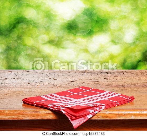 tafel, lege - csp15878438