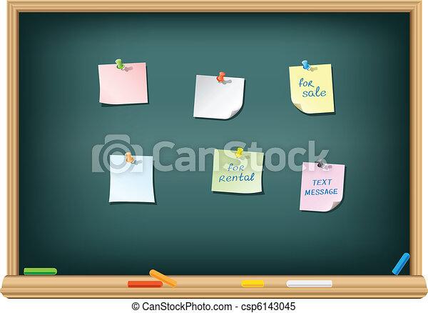 Tafel papier pushpin verschieden tafel schule for Tafel papier
