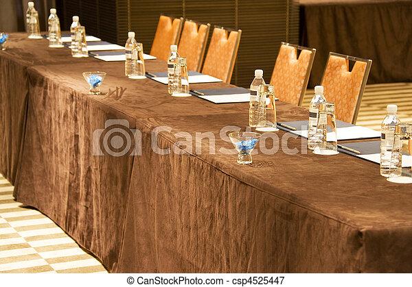 tafel, vergadering - csp4525447
