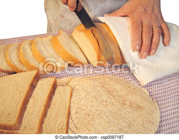 taglio, bread - csp0097187