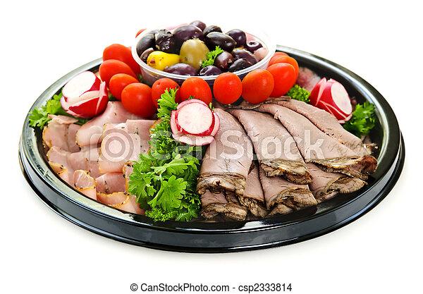 taglio freddo, piatto da portata - csp2333814