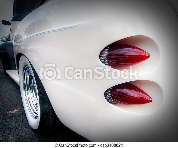 Car Tail Lights >> Tail Lights From A Custom Car