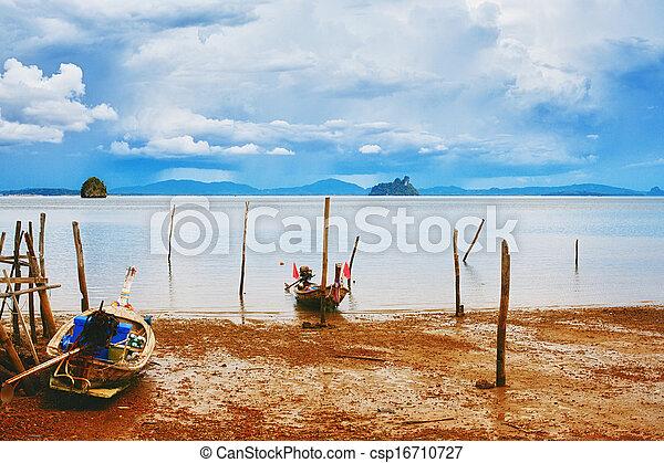 tailandés, orilla - csp16710727