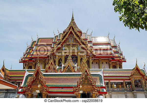 tailandia, arte, tempio - csp22008619
