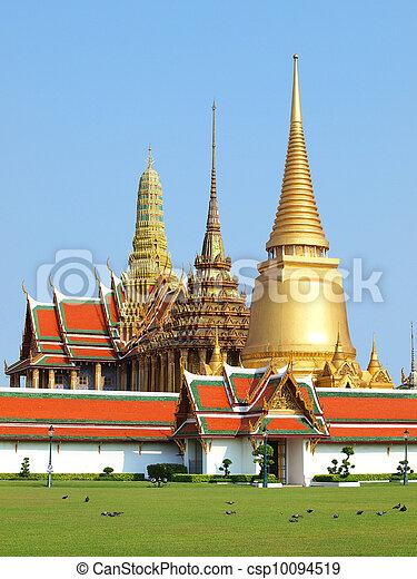 tailandia, palazzo, grande - csp10094519