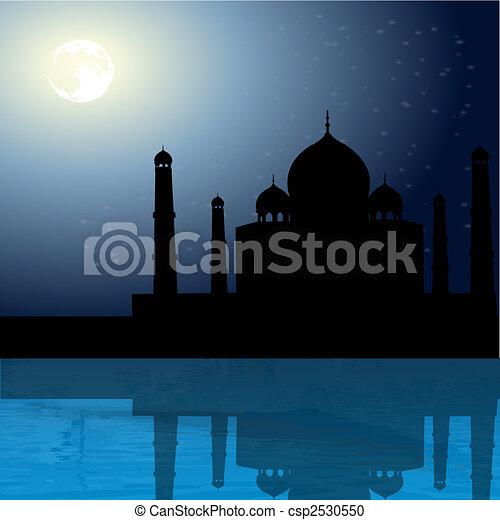 Taj Mahal, Agra, India - csp2530550