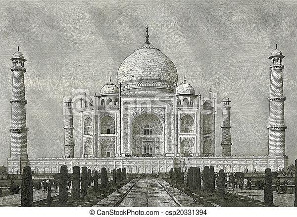 Taj Mahal - csp20331394