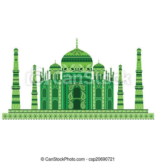 Taj Mahal - csp20690721