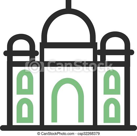 Taj Mahal - csp32268379