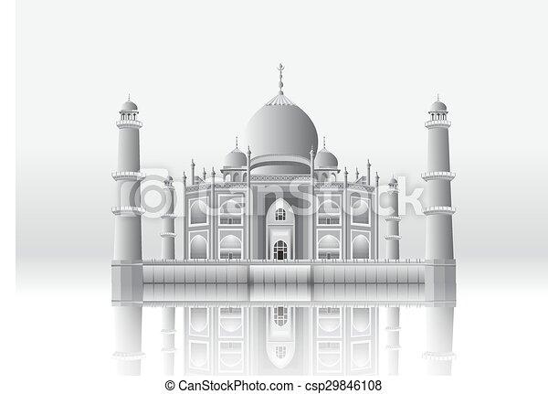 Taj Mahal - csp29846108