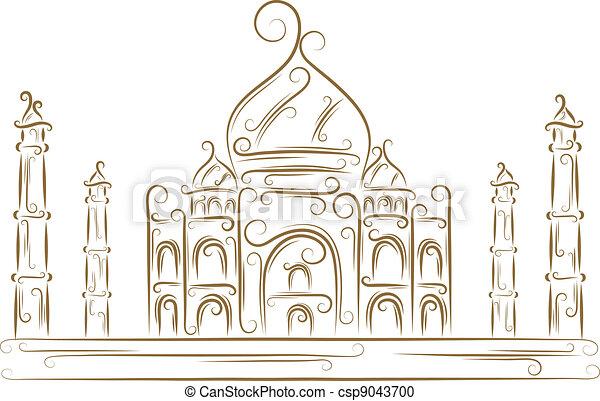Taj Mahal - csp9043700