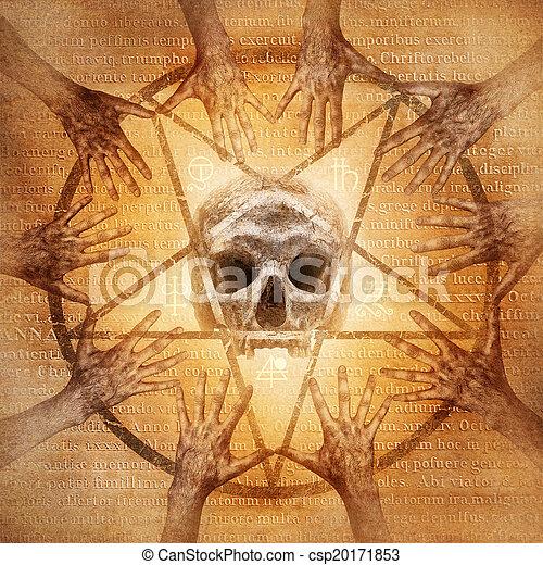 tajemny, seance - csp20171853
