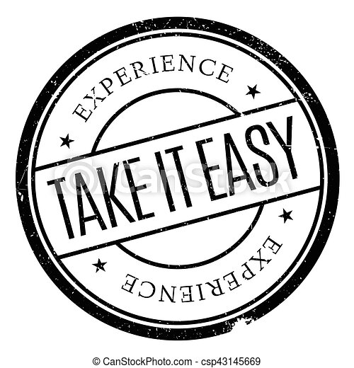 take it easy stamp grunge design with dust scratches effects can rh canstockphoto co uk Skating Clip Art Finish Clip Art