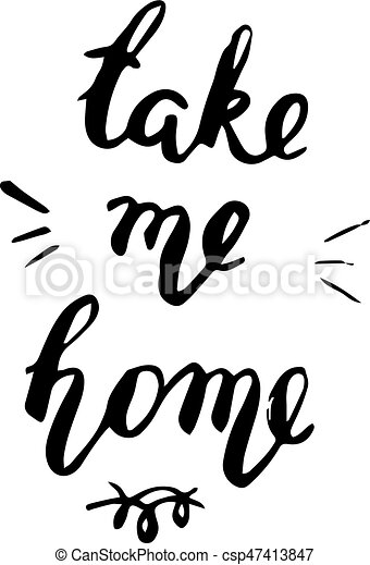 take me home postcard take me home lettering postcard ink eps rh canstockphoto ca postcard clipart free download postcard clipart black and white