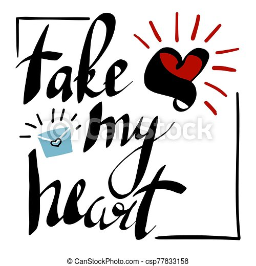 Set Black White Hearts Arrows Designed Stock Vector (Royalty Free) 360970235