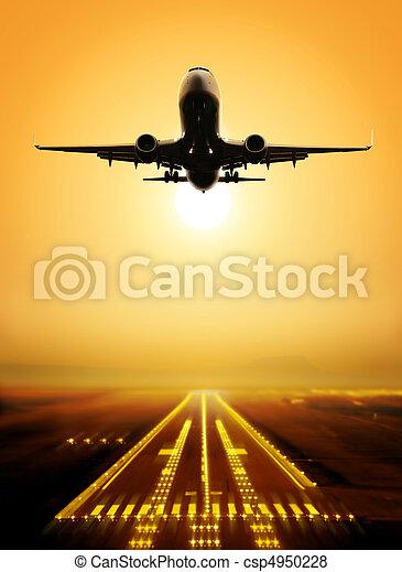 take-off runway - csp4950228