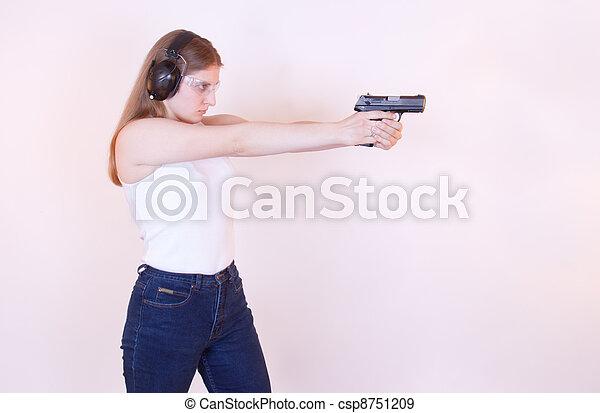 Taking aim - csp8751209