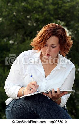 Taking Notes - csp0088010