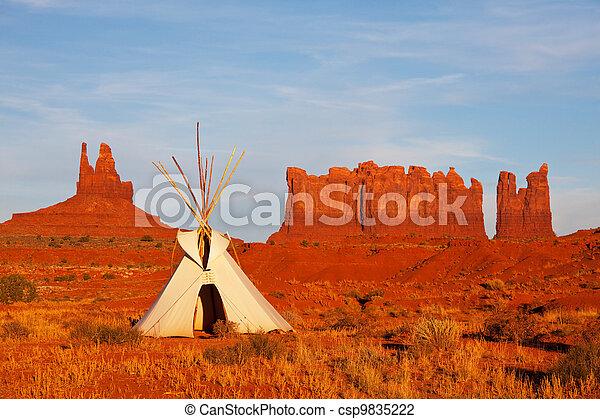 Monument Valley - csp9835222