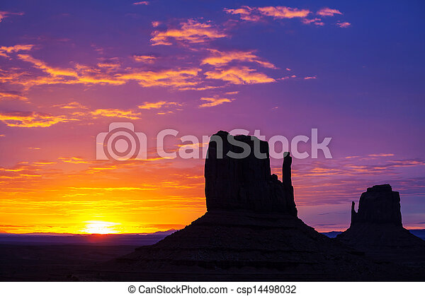 Monument Valley - csp14498032