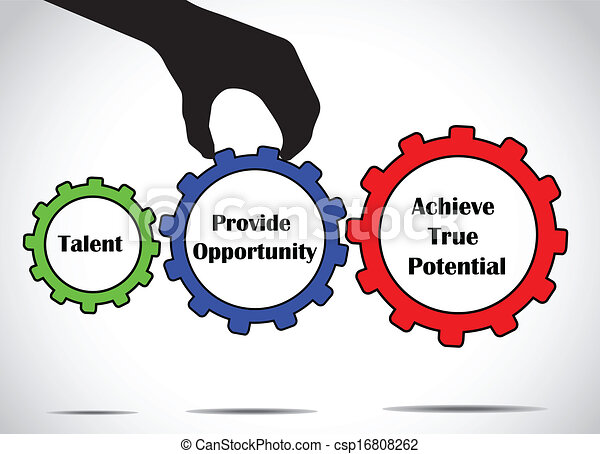 talent achieve success opportunity - csp16808262