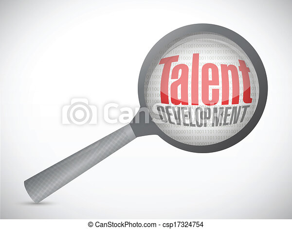 talent development investigation concept - csp17324754