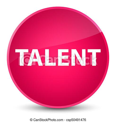 Talent elegant pink round button - csp50491476