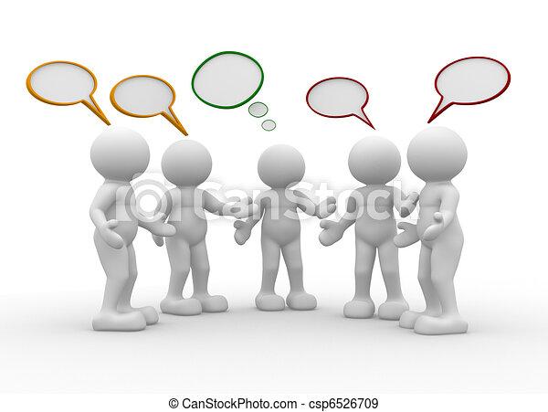 Talking - csp6526709