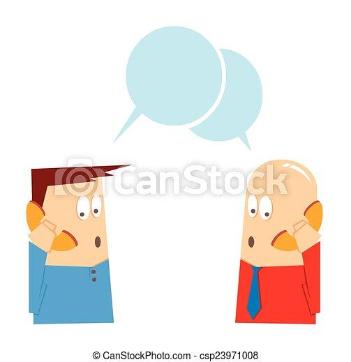 talking on phone - csp23971008