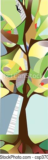 Tall tree - csp37007174