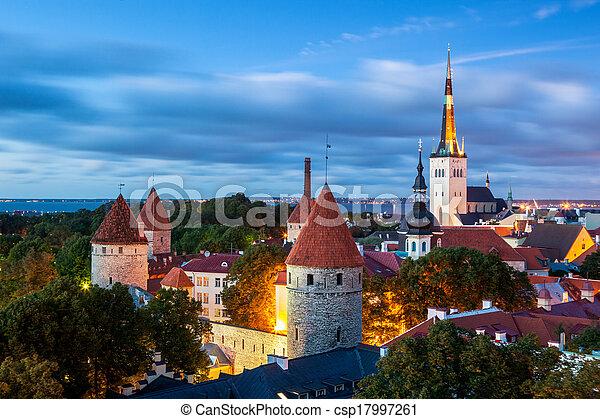 tallinn, estónia - csp17997261