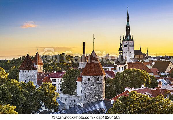 tallinn, estónia - csp18264503