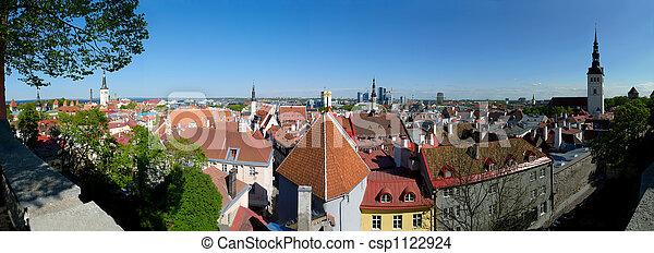 Tallinn Panorama - csp1122924