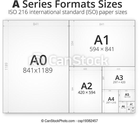A2 Papier Größe