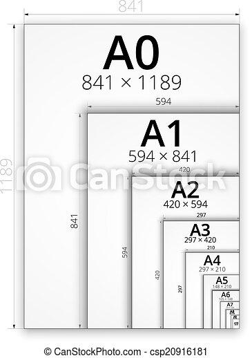 A3 Format Größe