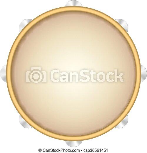 Tambourine - csp38561451