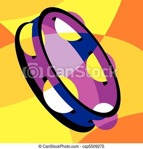 tambourine - csp5509275