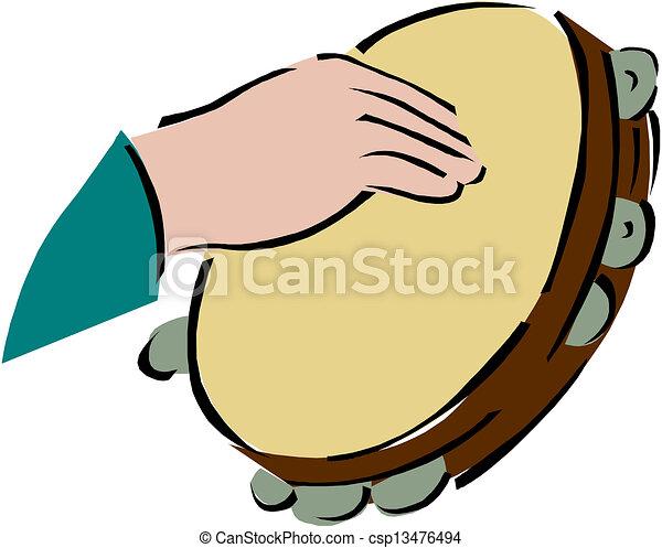 Tambourine  - csp13476494
