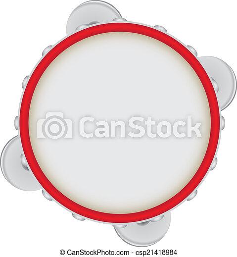 Tambourine - csp21418984