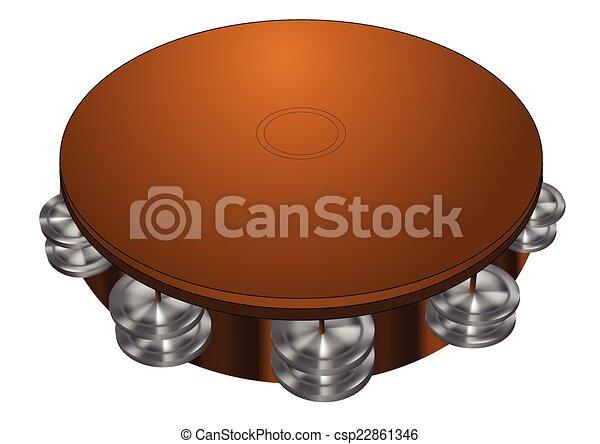 tambourine - csp22861346