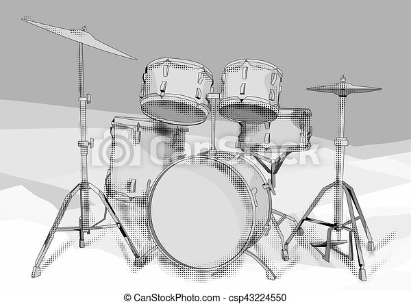 tambours, kit - csp43224550