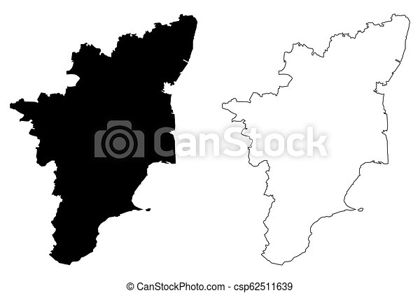 Madras India Map.Tamil Nadu Map Tamil Nadu States And Union Territories Of India