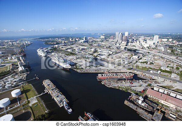 Tampa Bay Area. - csp1603948